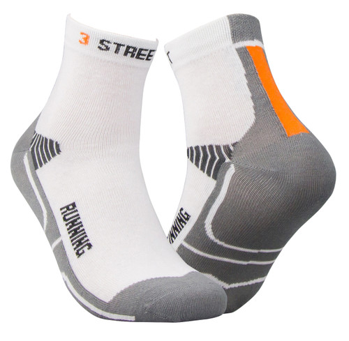 Coolmax Running Socks - White