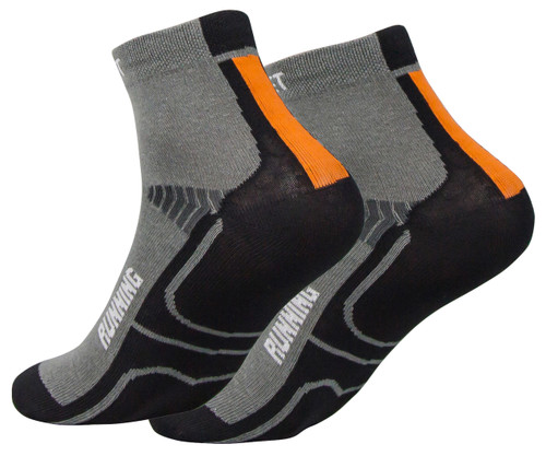 Coolmax Running Socks - Charcoal