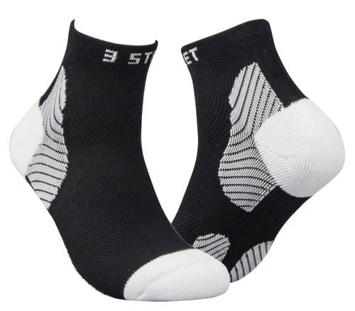 Running Ankle Socks - Black