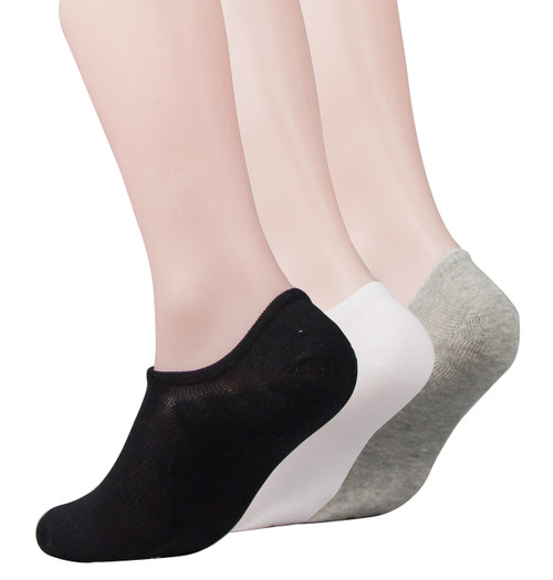 Antibacterial MEN'S No Show Socks