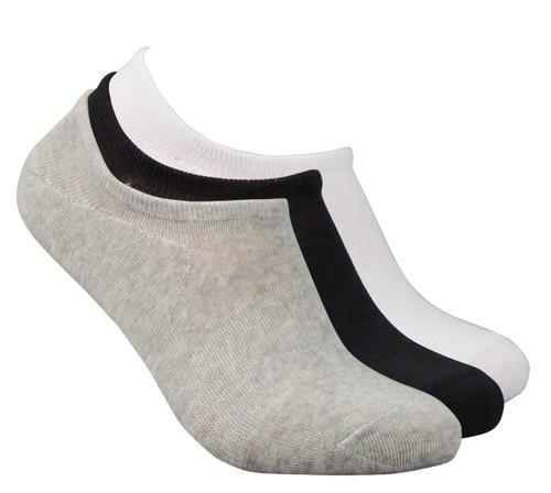Antibacterial Unisex No Show Socks