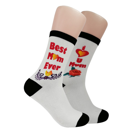 Gift socks for moms.