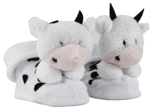 3D Cartoon Socks-Cow