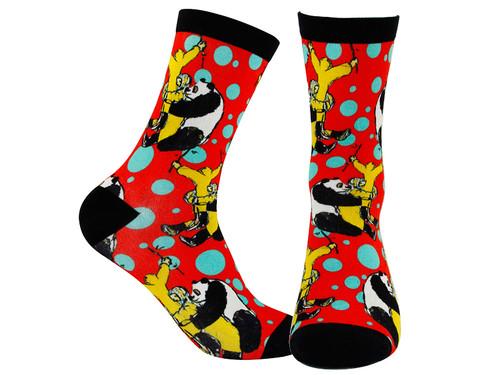Digital Printed socks, Panda Series for Panda lovers.