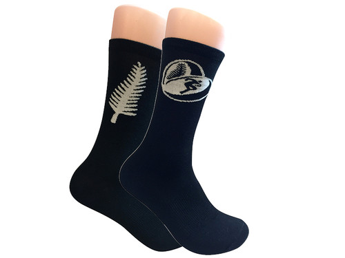 Rugby Fan Crew Socks