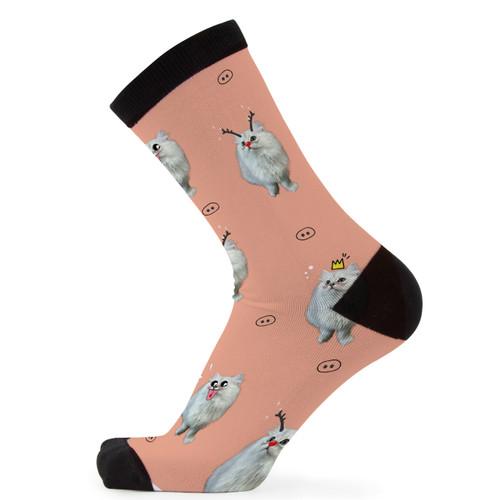 Digitally printed Bamboo Socks-Db002