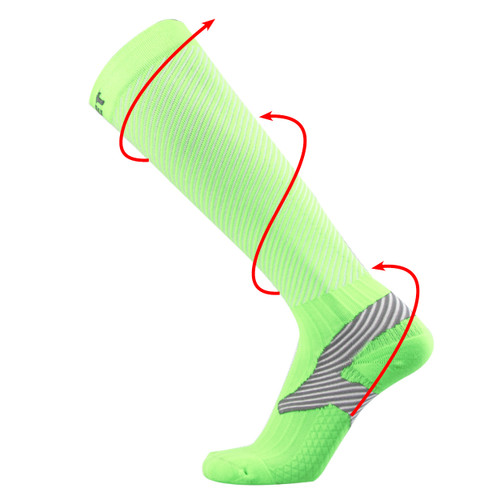 Athletic Compression Socks_Green