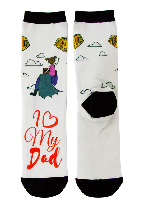 Gift Socks for Dad_I love my Dad
