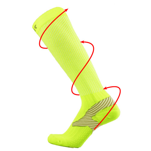Athletic Compression Socks_Yellow