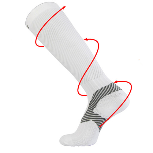 Athletic Compression Socks_White
