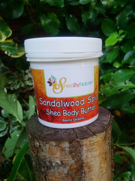 Sheabynature 250g Sandalwood Spice Body Butter for very dry skin. The smell of this body body is out of this world, You will love it