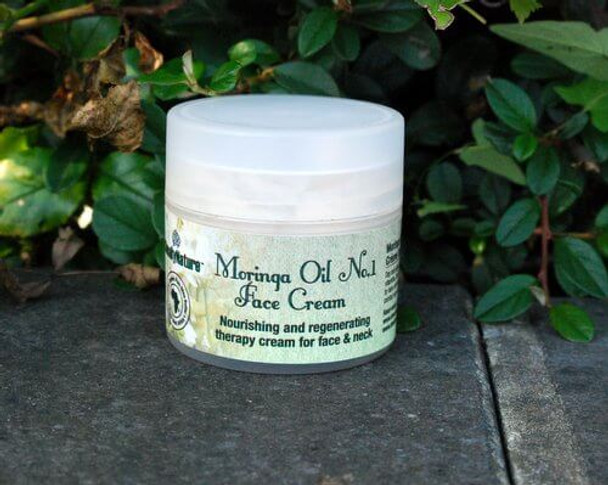 MORINGA OIL NO.1 FACE CREAM, Nourishing and regenerating therapy cream for Face and Neck 60ml