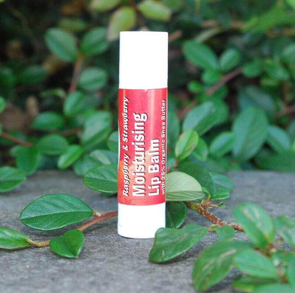 Raspberry & Strawberry Shea Butter and cocoa butter Lip Balm (4.5ml)