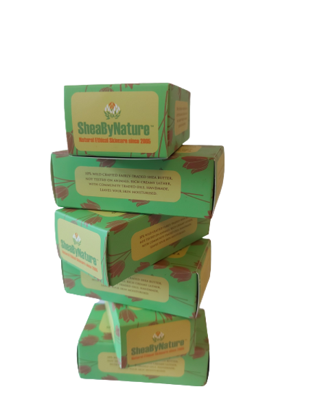6 Bars Lemongrass and Ginger Natural Handmade Soap with Organic Unrefined, Fair Trade Shea Butter, Coconut and Olive oils with Lime tree leaves and extract