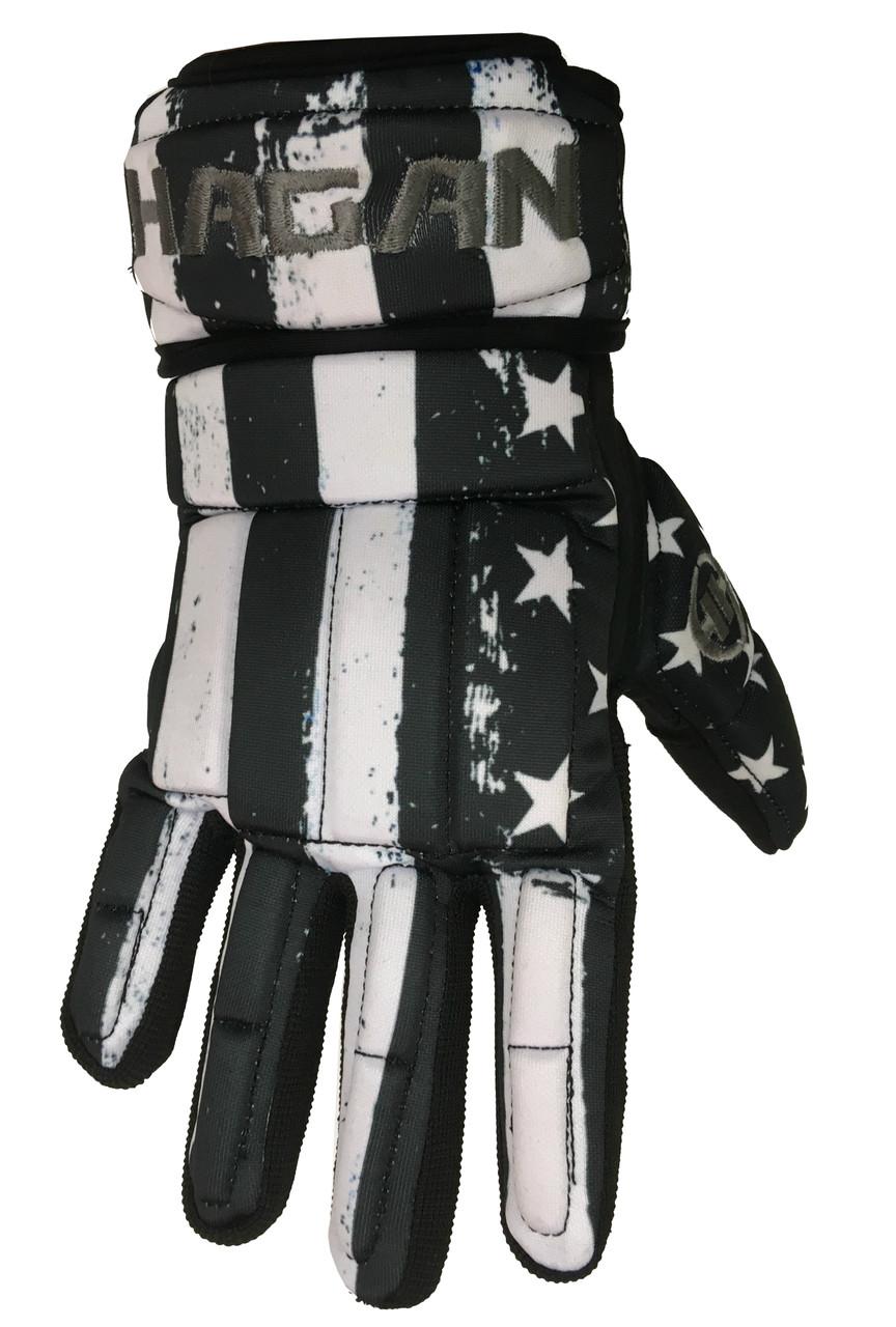 HAGAN HOCKEY H-1 Player Glove DEK Street and Ball HockeySpecial USA Edition