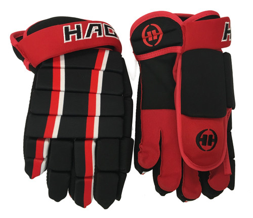H-5 Player Glove Black/Red