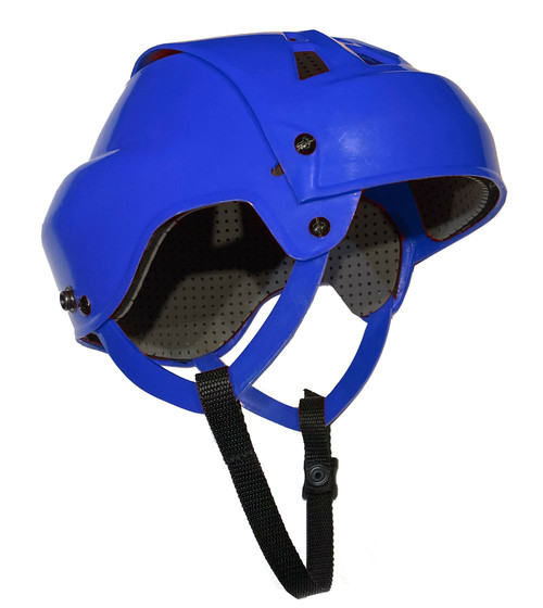 Senior Ball Hockey Helmet (BLUE)