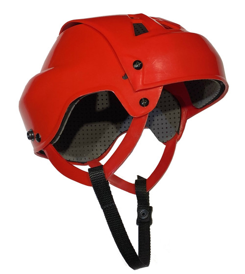 Senior Ball Hockey Helmet (RED)