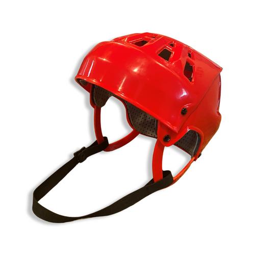 Senior Ball Hockey Helmet (RED)