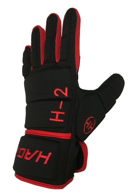 H-2 Player Glove Black/Red