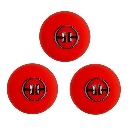 H-1 -Hockey Balls Orange/Warm Weather (Liquid Filled) x3