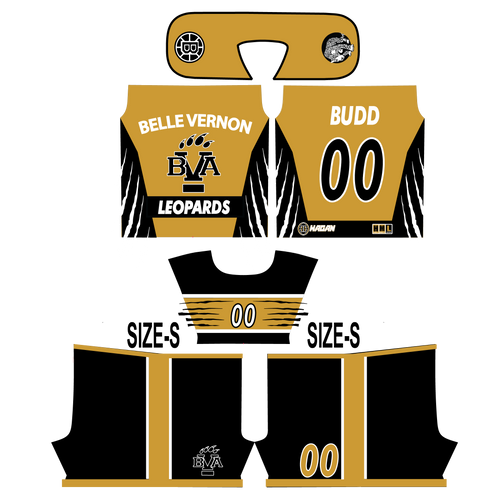 Belle Vernon Panthers Team Uniform Order