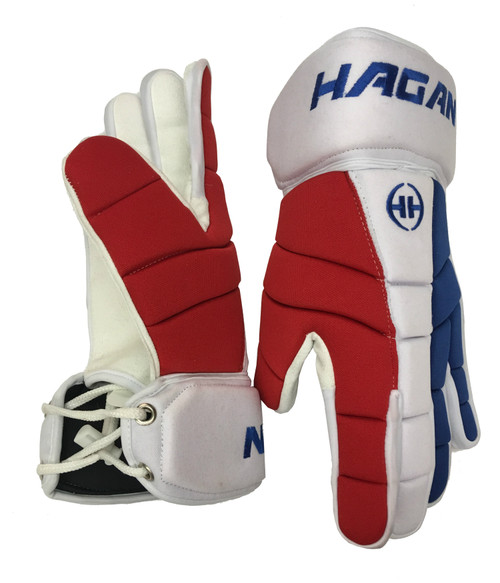 H-3 Player Glove (Blue/White/Red)