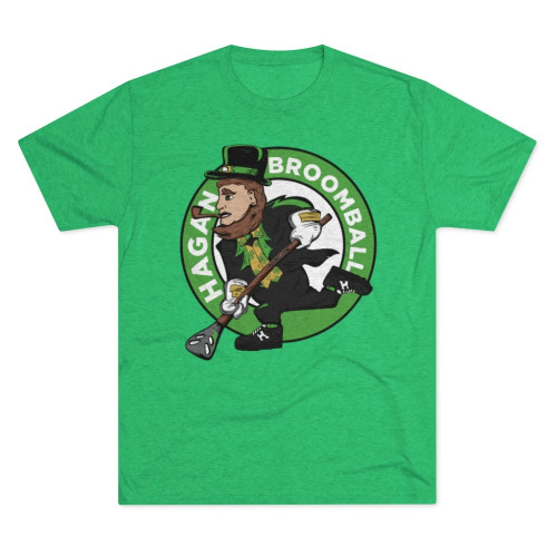 ST. PATTY'S DAY SPECIAL EDITION BROOMBALL SHIRT