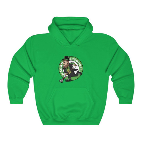 ST. PATTY'S DAY SPECIAL EDITION BROOMBALL HOODIE