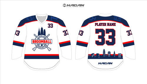 Clevland Broomball Uniforms 2020 (Re-Order)