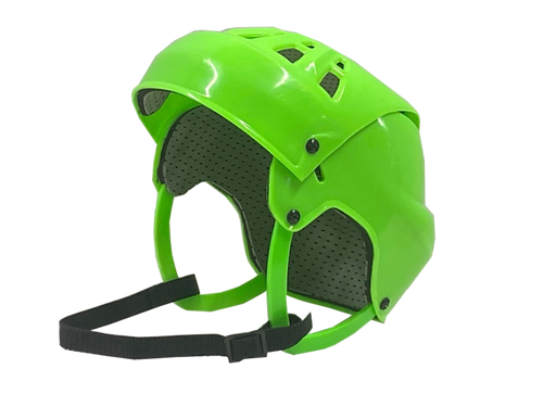 Senior Ball Hockey Helmet (GREEN)