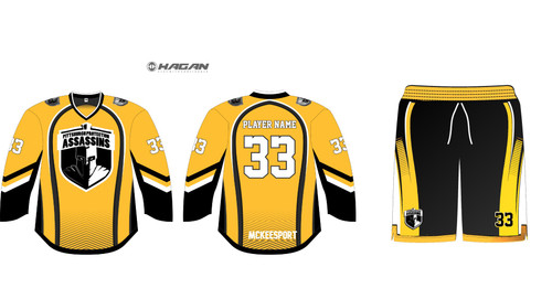 PGH Assassins Yellow Alternate Uniforms (Remaining Balance)