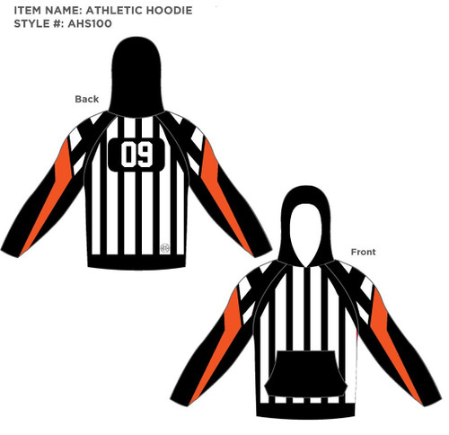 Detroit Referee Hoodies