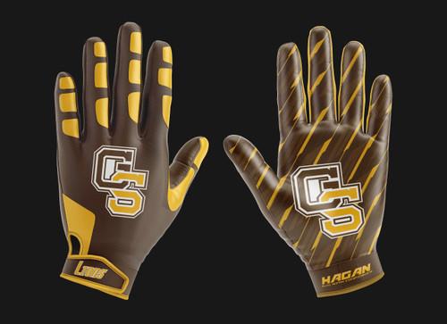 Custom Team Football Gloves