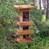 Natural Cedar Pagoda Bird Feeder