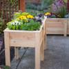 Natural Cedar Elevated Garden Planter