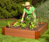 Composite Raised Garden Bed - 4' x 4'