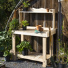 Rustic Cedar Potting Bench