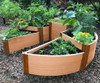 Circle Terraced Raised Garden Bed