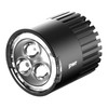 PWR Lighthead  1000l - Elliptical beam, spot beam and glowing outer ring