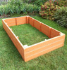 Recycled Plastic Raised Garden Bed - 3' x 8' x 16.5""