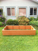 Recycled Plastic Raised Garden Bed - 4' x 6' x 16.5""