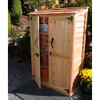 4' x 2' Garden Chalet Shed