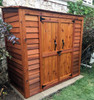 6' x 3' Garden Shed - Stained