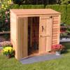 6' x 3' Patio Garden Shed