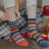 Nutmeg Recycled Cotton Socks