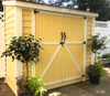8' x 4' SpaceSaver Shed - Painted by customer