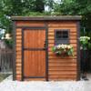 8' x 4' GardenSaver Storage Shed - Single Door
