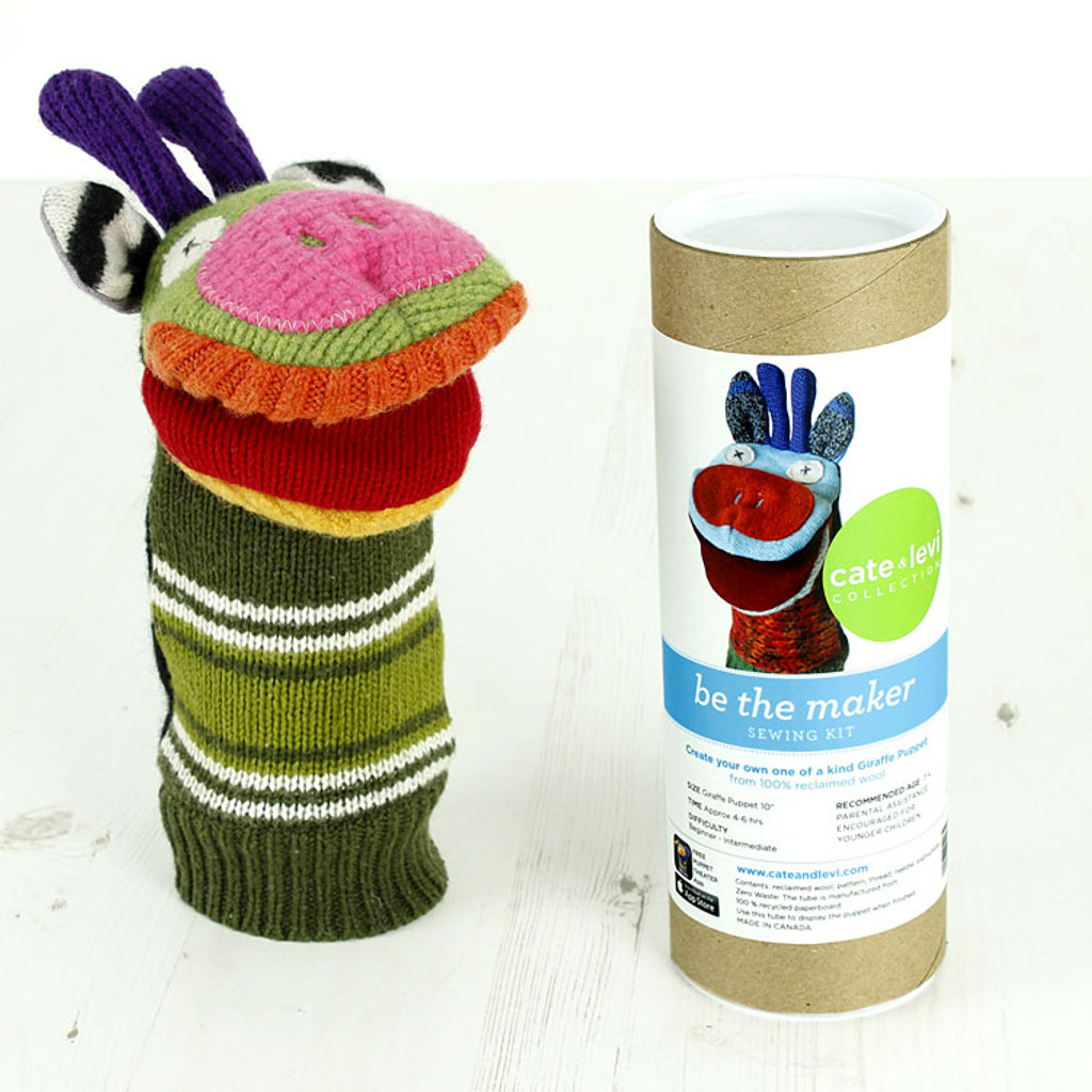 Recycled Wool Puppet Kit