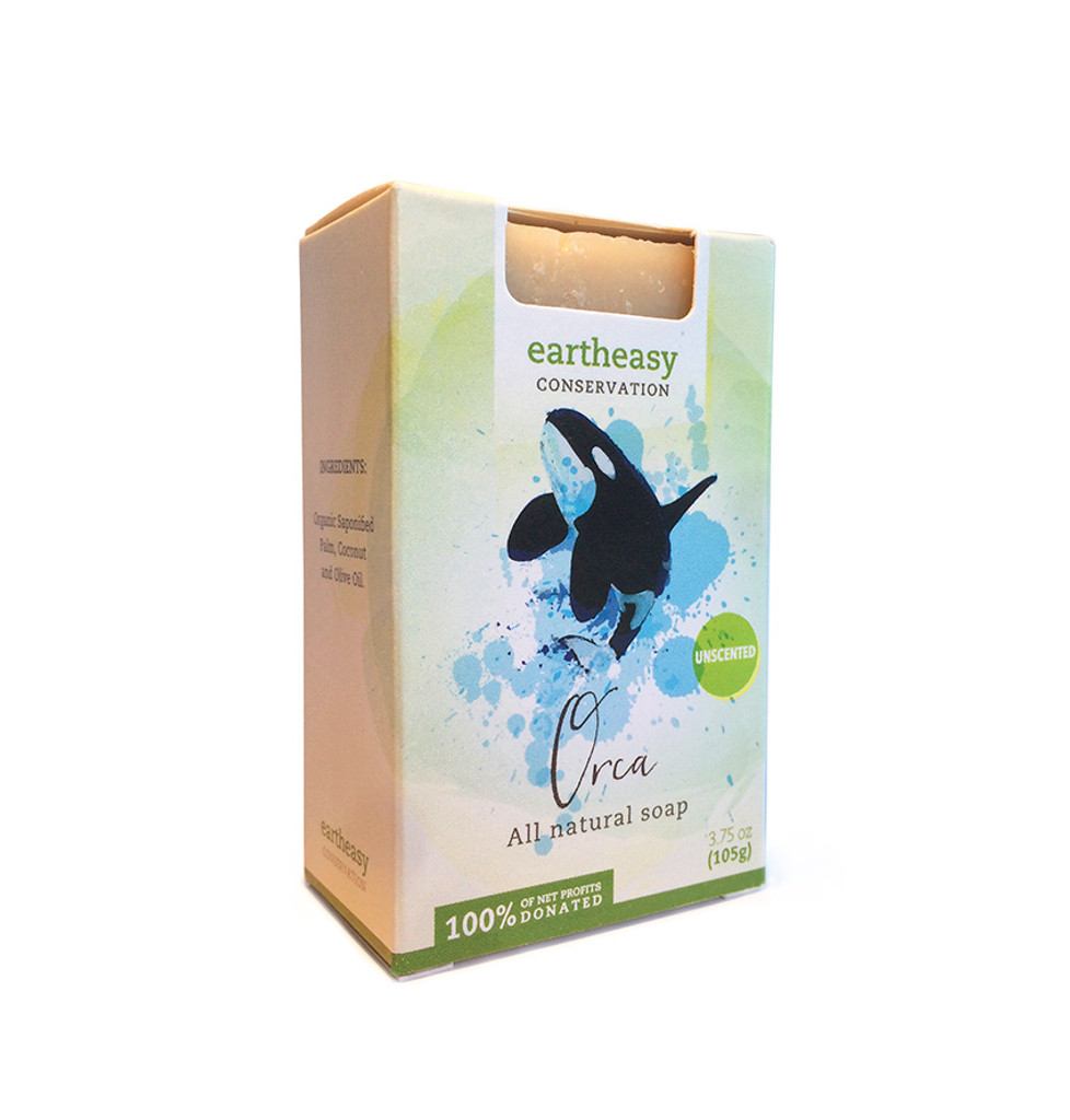 Eartheasy Orca Bar - Truly Unscented Soap